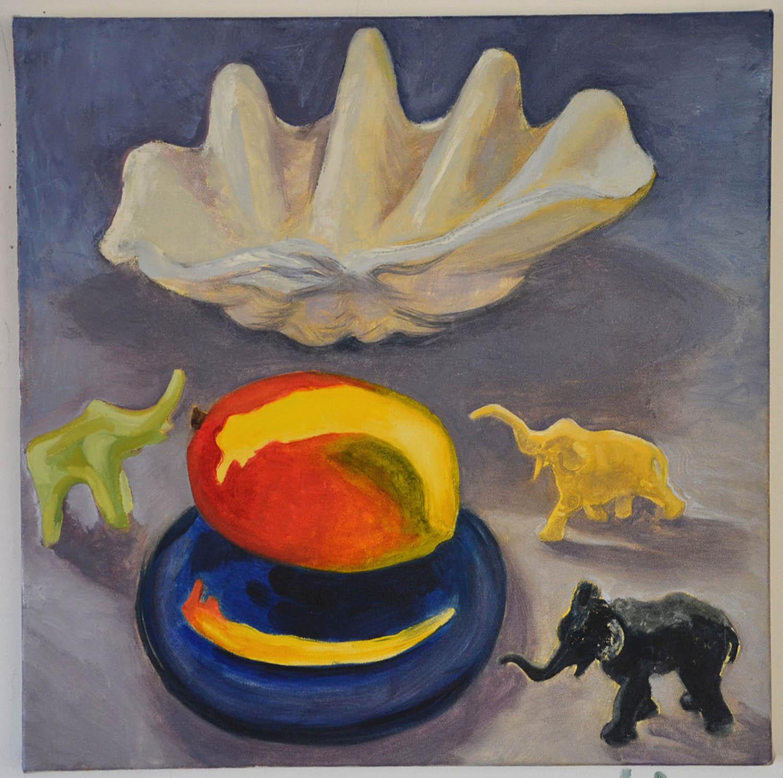 Mango, oil on canvas